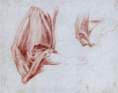 Ecole française du XVIIIe siècle : Etude...