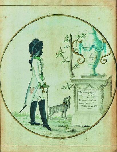 Johann Gottfried GROHMANN (1763-1805) : Silhouette...