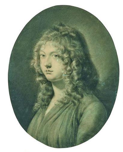 Jean-Baptiste ISABEY (1767-1855) : Portrait...