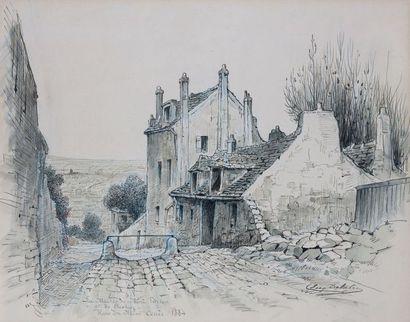 Eugène DELÂTRE (1864-1938) : La Maison de...
