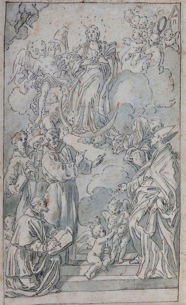 Michele del POZZO : L'Immaculée Conception...