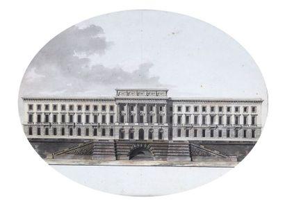 Jean-Nicolas-Louis DURAND (1760-1834) : L'hôtel...