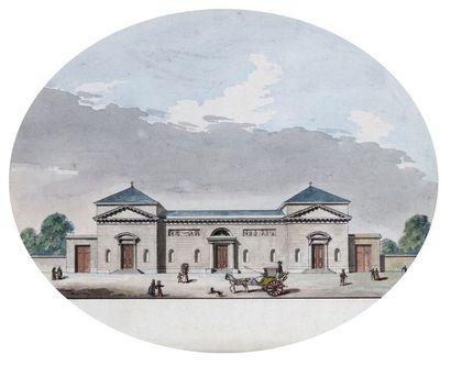 Jean-Nicolas-Louis DURAND (1760-1834) : Vue...