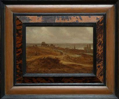 Jan Van GOYEN (Leyde, 1596 - La Haye, 1656)...