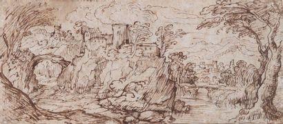 Ecole flamande du début du XVIIe siècle :...