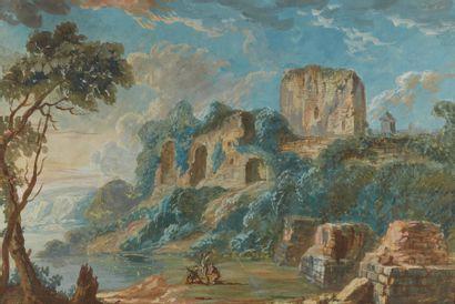 Attribué à Jean Nicolas SERVANDONI (1695-1766)...