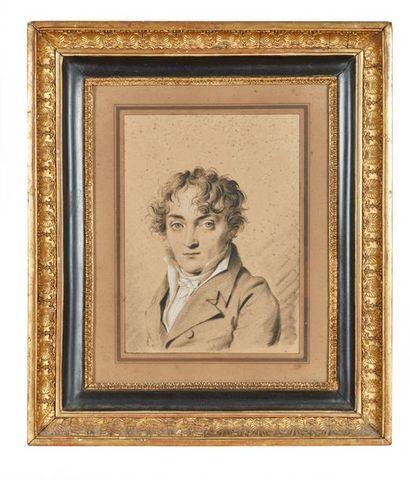 Louis-Léopold BOILLY (1761-1845)  Portraits...