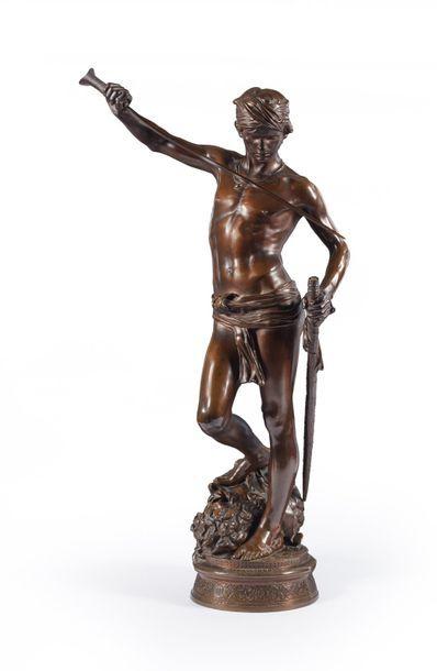 Antonin MERCIÉ (1845-1916)  David vainqueur...
