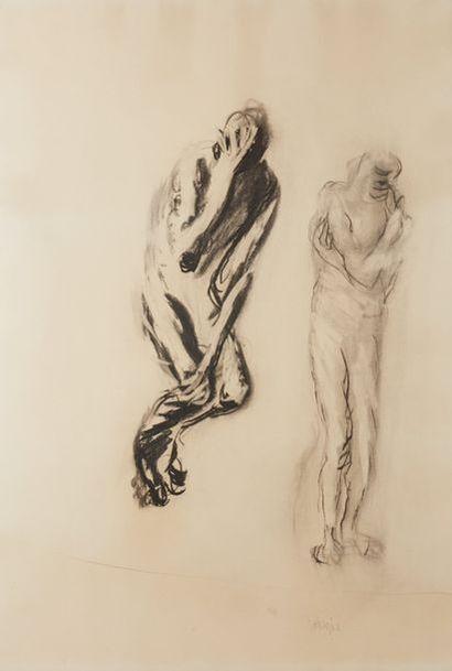 Eugène DODEIGNE (1923-2015)  Deux personnages...