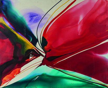 Paul JENKINS (1923-2012)  Phenomena Cardinal...