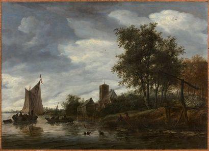Salomon Van RUYSDAEL (vers 1600/1603-1670)...