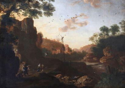 École hollandaise, vers 1680, entourage de...
