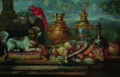 Attribué à Reynaud LEVIEUX (1613-1699)  Paire...