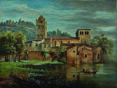 Jean-Michel GROBON (1770-1853)  La Basilique...