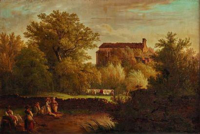 Wolfgang-Adam TÖPFFER (1766-1847)  Paysage...