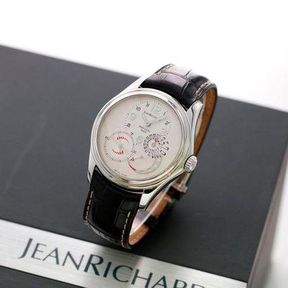 JeanRichard, Bressel 1665, Ref. 64112, vers 2007  Intéressante et inhabituelle montre...