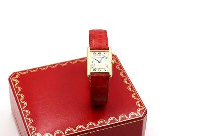 Cartier, Tank, vers 1990  Belle montre bracelet...