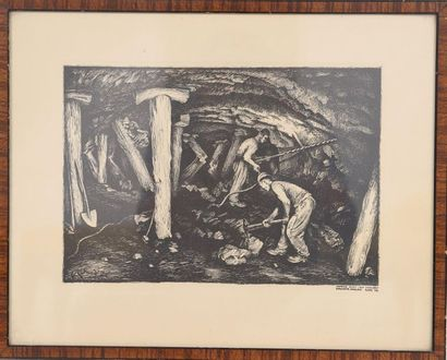 Henri Rabinger (1895-1966)  Artiste peintre...