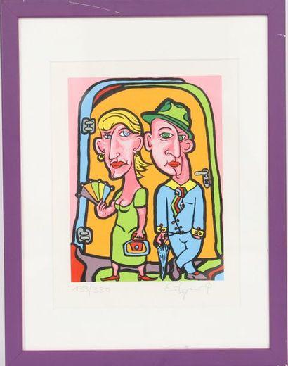 Kohn Edgar (né en 1970)  Artiste peintre...