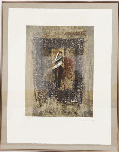 Lunkes Jeannot (né en 1946)  Artiste peintre...