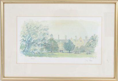 Wadham college, Oxford The Fellow's Garden...
