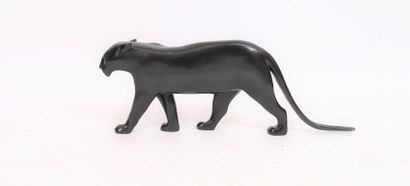 """""""Panthère noir"""" de François Pompon (1855-1933)  Célèbre sculpteur animalier français..."""