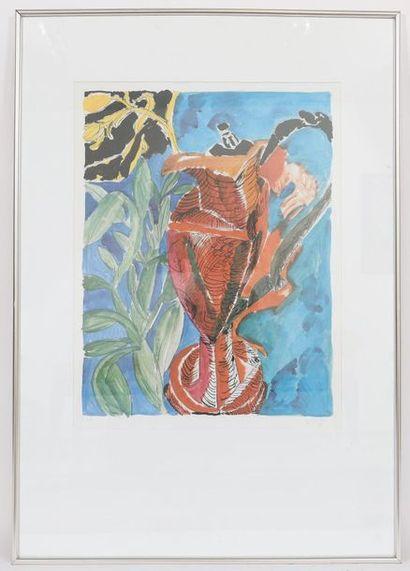 Moritz Ney (né en 1947)  Artiste peintre...