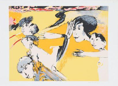 Remo Brindisi (1918-1996)  Artiste peintre...