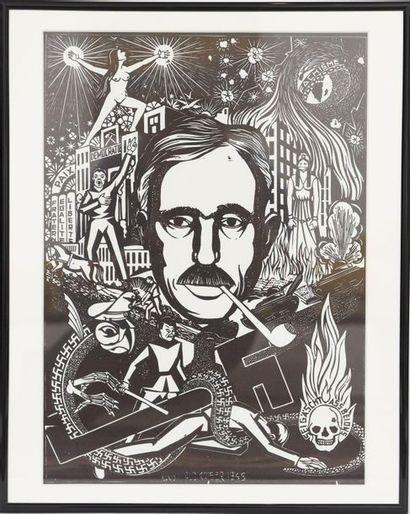 Pe'l Schlechter (né en 1921)  Ecrivain, illustrateur...