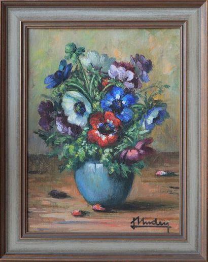 Nature morte de Lily Unden (1908-1989)  Artiste...