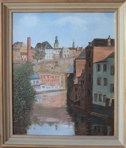 Victor Kremer (1900-1985)  Artiste peintre...