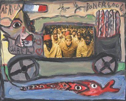 Jaber El Mahjoub (né en 1938)  Artiste autodidacte...