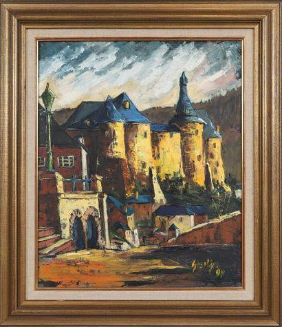 Jos Steil (né en 1940)  Artiste peintre autodidacte...