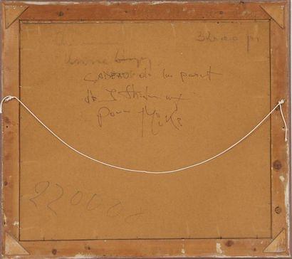 Jean-Pierre Thilmany (1904-1996)  Artiste peintre luxembourgeois, membre du CAL...