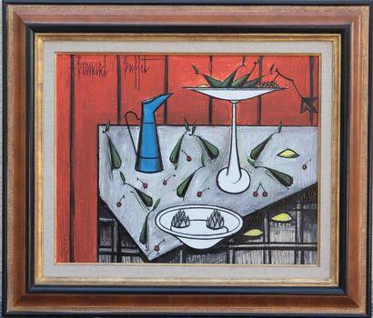 Bernard BUFFET (1928-1999)  « Nature morte...