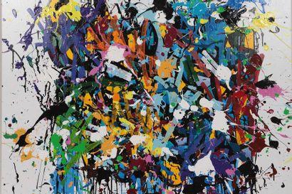 """""""WalkAways"""" de JonOne (né en 1963)  Artiste graffeur américain, Fondateur du 156..."""