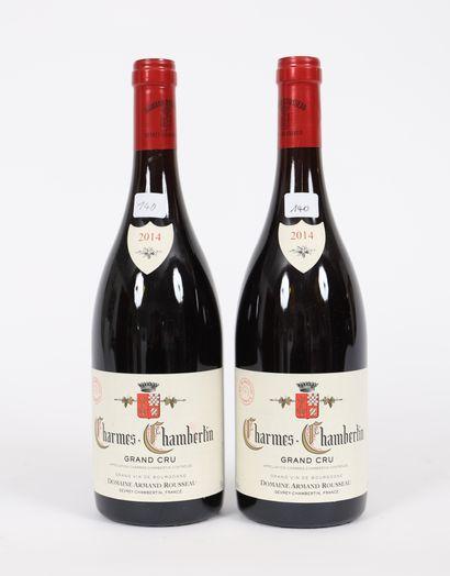 Charmes-Chambertin (x2)  Grand Cru  2014...