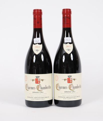 Charmes-Chambertin (x2)  Grand Cru  2015...