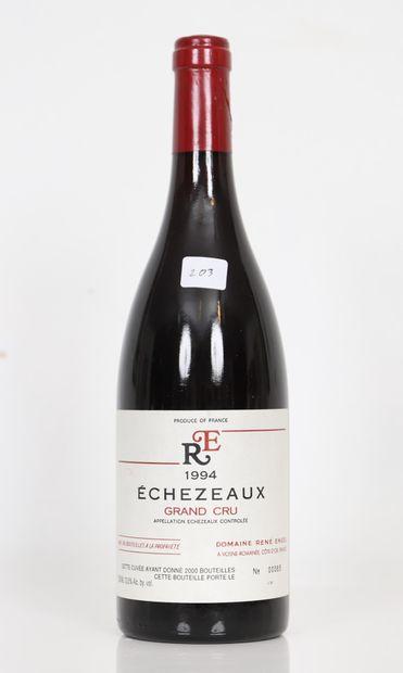 Echezeaux (x1)  Grand Cru  Domaine René Engel...