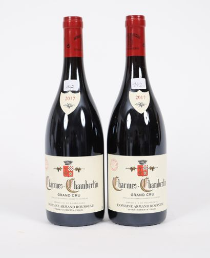 Charmes-Chambertin (x2)  Grand Cru  2017...