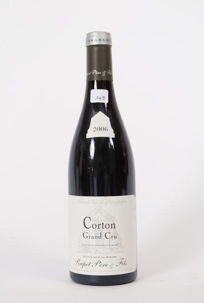 Corton (x1)  Grand cru  2006  Rapet Père...