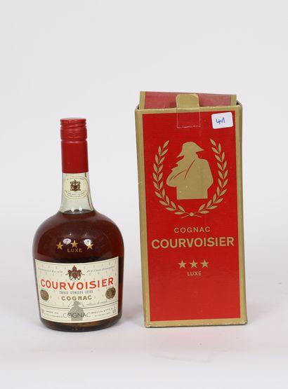 Courvoisier (x1)  Cognac  Trois Etoiles Luxe...