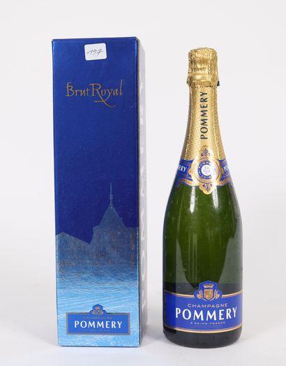 Pommery (x1)  Champagne brut royal  Dans...