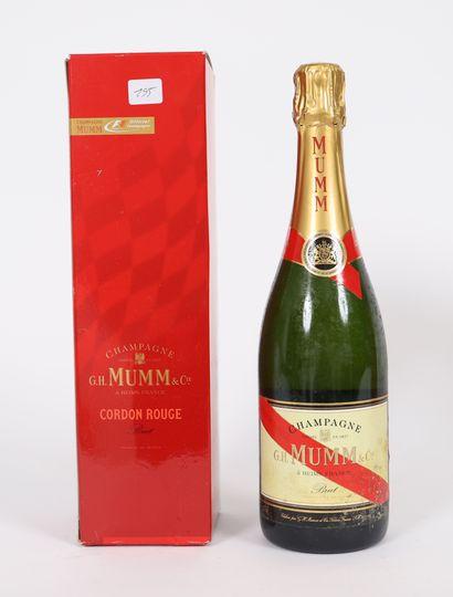 Mumm Cordon rouge (x1)  Champagne brut  Dans...