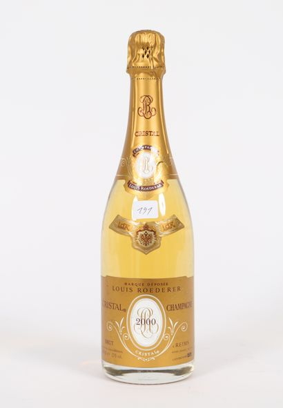 Louis Roederer (x1)  Cristal Champagne  2000...