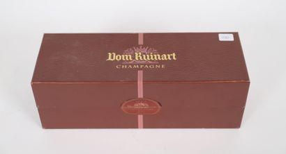 Dom Ruinart (x1)  Champagne rosé  Dans son...
