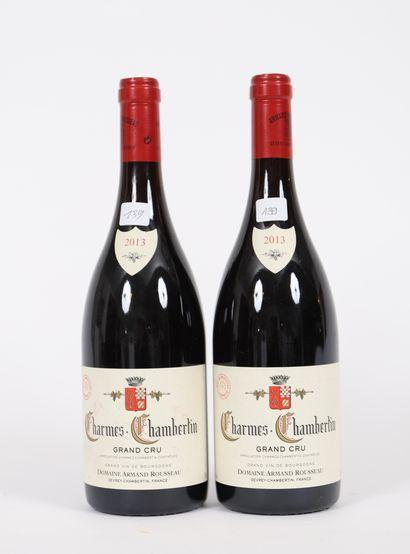 Charmes-Chambertin (x2)  Grand Cru  2013...