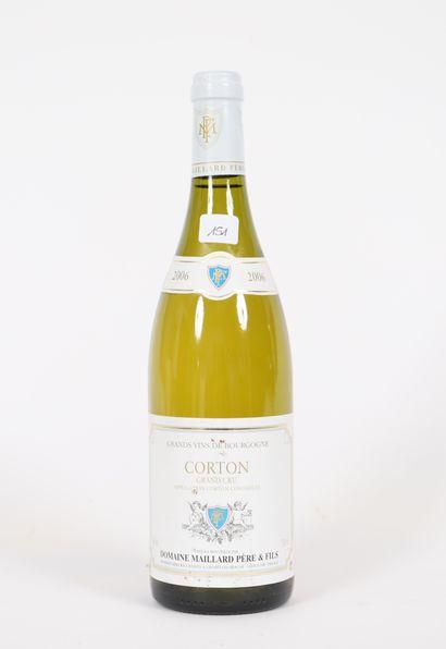 Corton (x1)  Grand Cru  2006  Domaine Maillard...