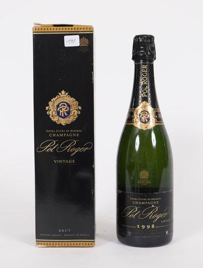 Pol Roger (x1)  Champagne brut  Extra cuvée...