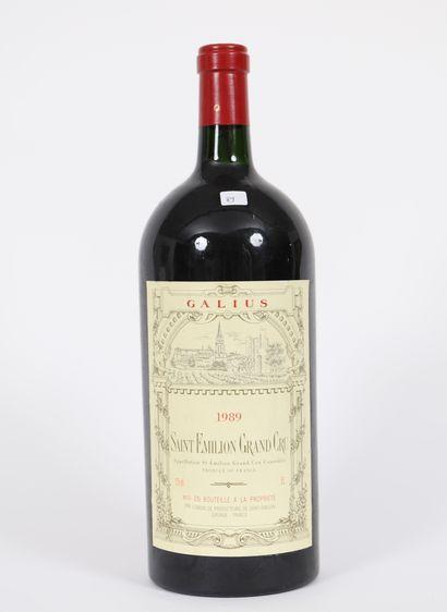Galius (x1)  Saint-Emilion Grand Cru  1989...